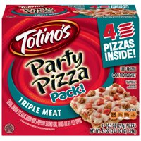 Totino's Triple Meat Party Pizza Box 4 - 10.5 oz Pizzas