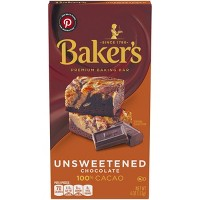 Baker's 100% Cacao Unsweetened Chocolate Baking Bar - 4oz