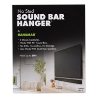 Hangman No-Stud Sound Bar Hanger, SBH-6, Soundbar Mount