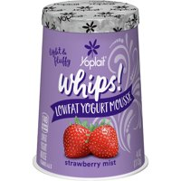 Yoplait Whips! Strawberry Mist Yogurt, Mousse 4 Oz.