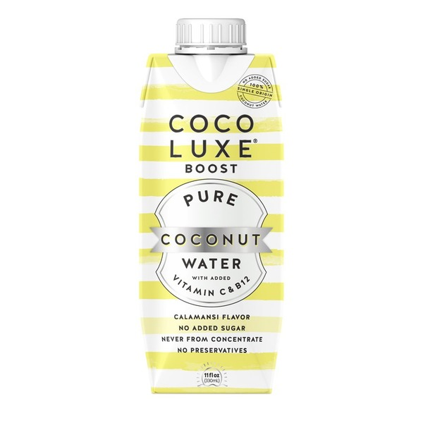 Coco Luxe Boost With Vitamin C & B12 Coconut Water