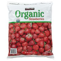 Kirkland Signature Organic Strawberries, 4 lb