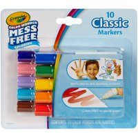Crayola Color Wonder Mini Markers 10 Count Classic