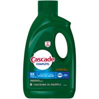 Cascade Complete Gel Dishwasher Detergent, Citrus Breeze, 75 oz