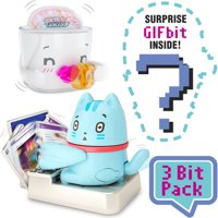 Oh My GIF Collectible Toy, 3 Bit Funny GIFs Brought to Life - 3-Pack (Style May Vary)