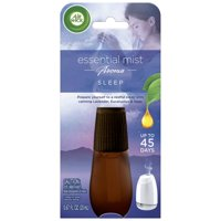 Air Wick Essential Mist Refill, 1ct, Sleep, Air Freshener, Essential Oils Diffuser, Aromatherapy, Air Freshener