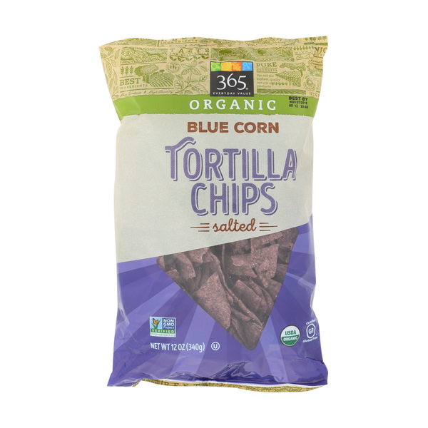 365 everyday value® Blue Corn Tortilla Chips, 12 oz