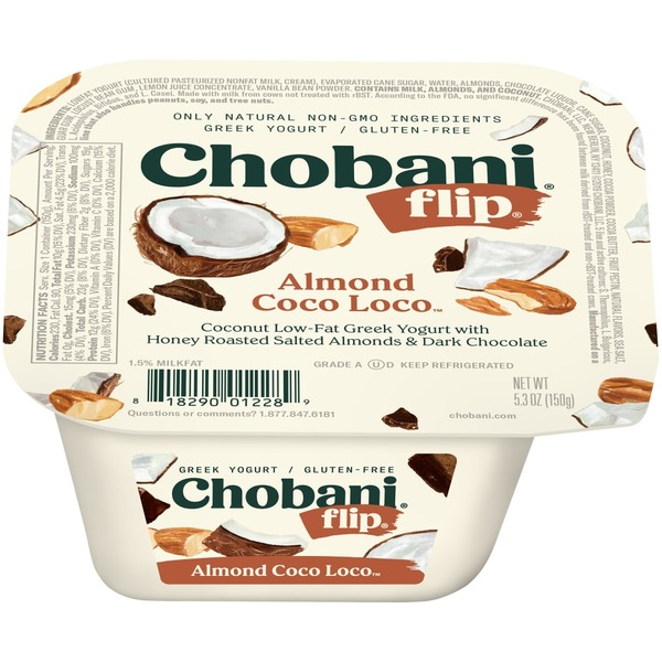 Chobani Flip Low Fat Greek Yogurt Almond Coco Loco From Kroger In