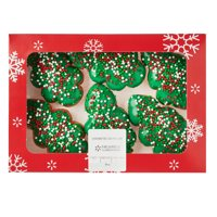 Wal-mart Bakery *6ct Holiday Tree Donut