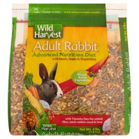 Wild Harvest Advanced Nutrition Diet for Adult Rabbits, 4 lbs.