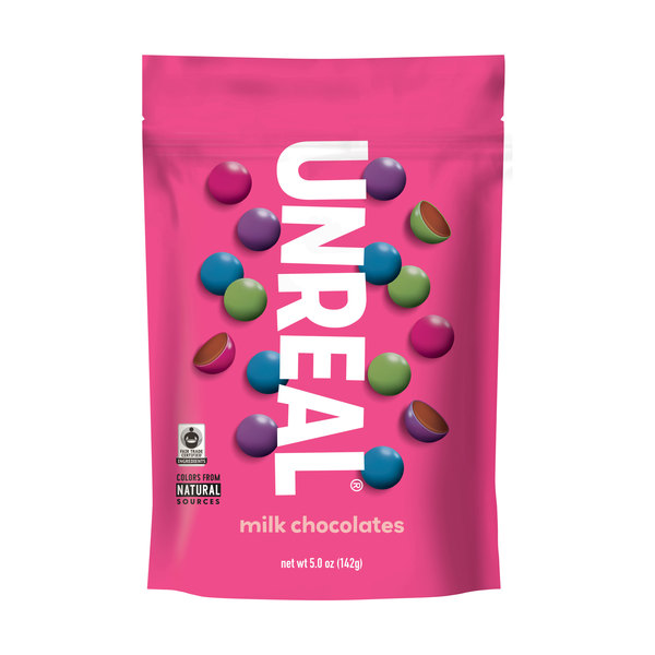 Unreal Milk Chocolate Gems, 5 oz