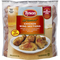 Tyson® Chicken Wing Sections, 4 lb. (Frozen)