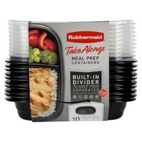 Rubbermaid 20pc TakeAlongs Meal Prep Containers Set