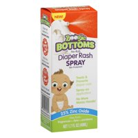 Boogie Bottoms No-Rub Diaper Rash Spray, 1.7 fl oz