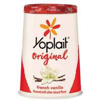 Yoplait Yogurt, Low Fat, French Vanilla