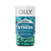 OLLY Goodbye Stress Ultra Softgel Supplement - 60ct