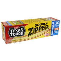 H-E-B Double Zipper Freezer Bags