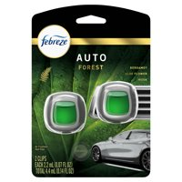 Febreze Car Odor-Eliminating Air Freshener, Forest, 2 Ct