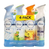 Febreze Air Effects Variety Pack, 4 X 8.8 oz