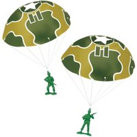 TOY STORY 3 GREEN ARMY MEN WITH PARACHUTES