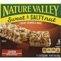 Nature Valley Granola Bars, Chewy, Sweet & Salty Nut