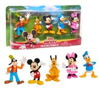 Mickey Mouse Collectible Figure Set, 5 Pack, Ages 3+