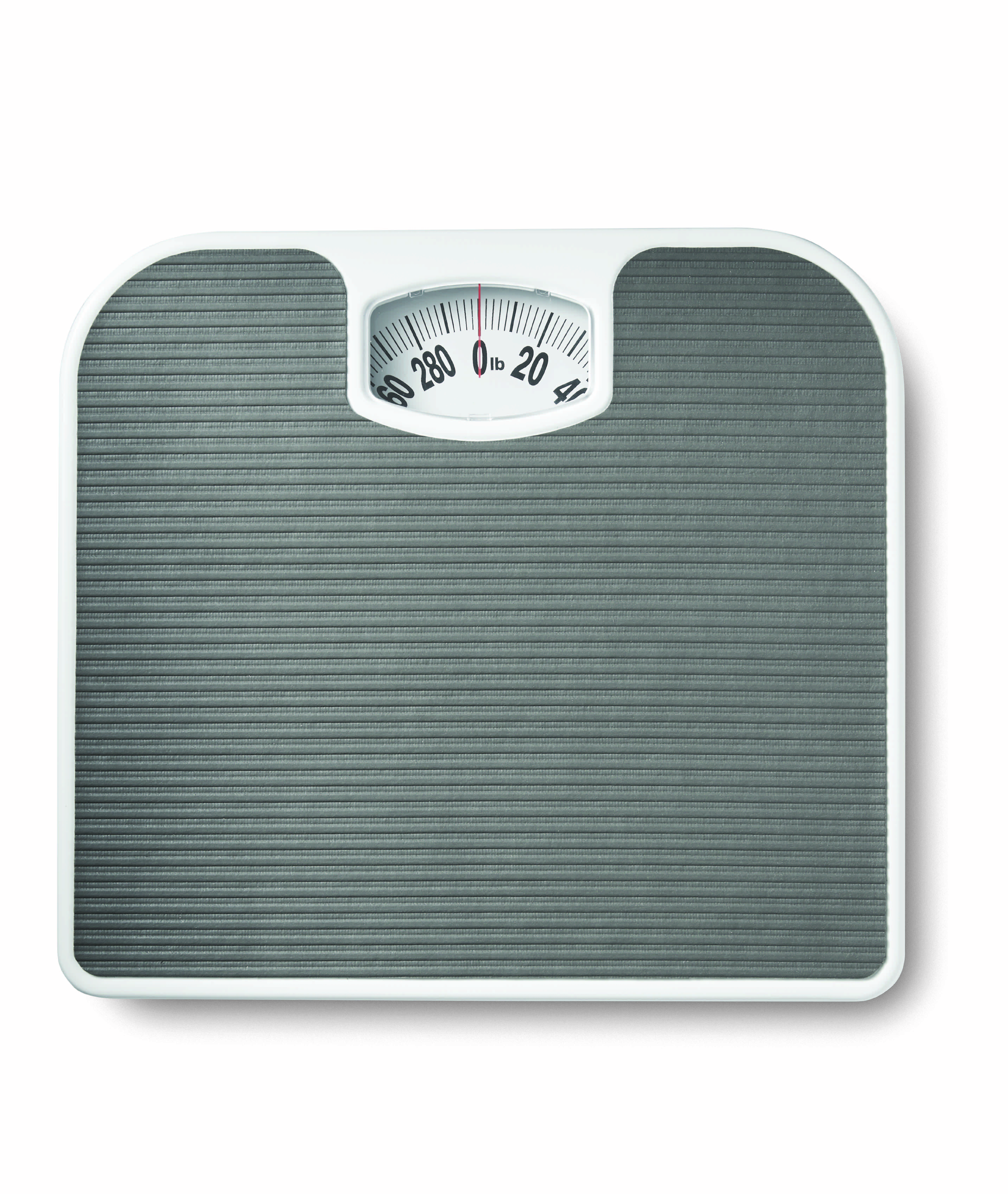 Mainstays Analog Bathroom Scale, Dial Body Scale, White