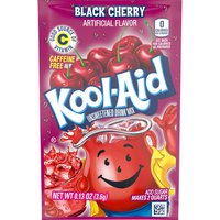 Kool-Aid Unsweetened Black Cherry Powdered Soft Drink