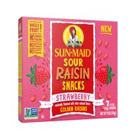 Sun-maid Sour Raisin Snacks, Strawberry, 7 ct, 0.7 oz