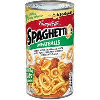 Campbell's SpaghettiOsCanned Pasta with Meatballs, 22.2 oz. Can