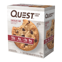 Quest Protein Cookie, Chocolate Chip, 15g Protein, 4 Ct