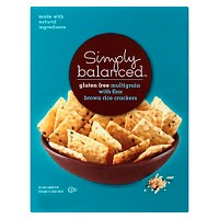 Gluten Free Multi-Grain With Flax Brown Rice Crackers 3.5oz - Simply Balanced™