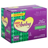 H-E-B Baby Unscented Baby Wipes Texas Pack