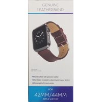 Apple Watch 42mm & 44mm Genuine Leather Band, Brown