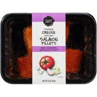 Sam's Choice Frozen Tray Packed Creole Salmon Portions, 8.5 oz