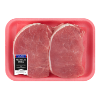 Pork Center Cut Loin Chops Thick Boneless, 0.8 - 1.6 lb