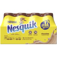 Nesquik Low Fat Chocolate Milk, 8 fl oz, 12 count