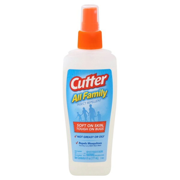 Cutter Insect Repellent, Cooling Clean Scent
