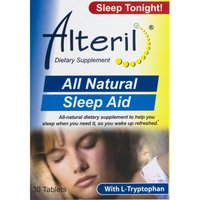 Alteril Dietary Supplement All Natural Sleep Aid Tablets