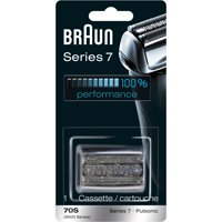 Braun Shaver Replacement Part 70 S Silver - Compatible with Series 7 shavers