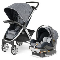 Chicco Bravo Travel System - Indigo