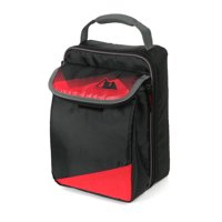 Arctic Zone Expandable Upright Lunch, Black and Red