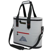 Ozark Trail 30 Can Leaktight Cooler with Heat Welded Body, Gray