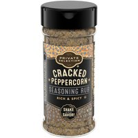 Private Selection Cracked Peppercorn Seasoning Rub