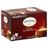 Twinings Black Tea, Chai, K-Cup Pods