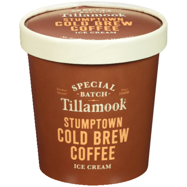 Tillamook Ice Cream, Stumptown Cold Brew Coffee