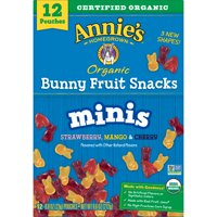 Annie's Mini Bunny Fruit Snacks