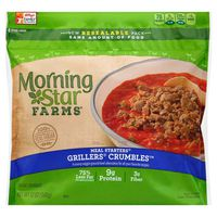 Morning Star Farms Veggie Meal Starters Crumbles Grillers Original