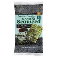 Central Market Teriyaki Roasted & Seasoned Seaweed Snack