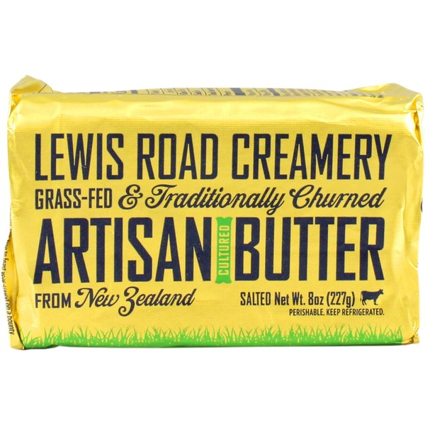 Lewis Road Creamery Grass Fed Artisan Salted Butter